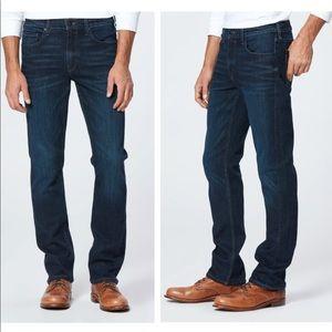 NWOT PAIGE Federal Slim Straight Jeans - Graham